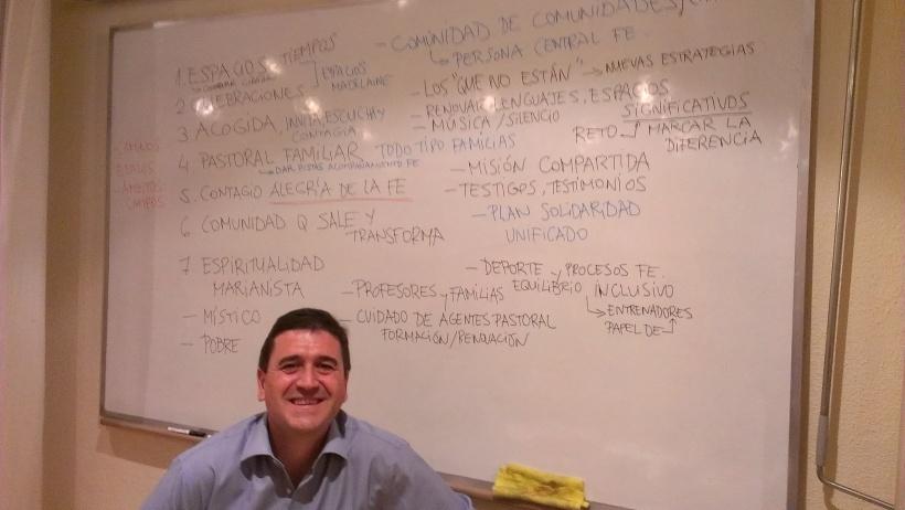 Javier Palop, facilitador de la sesión. ¡Gracias!