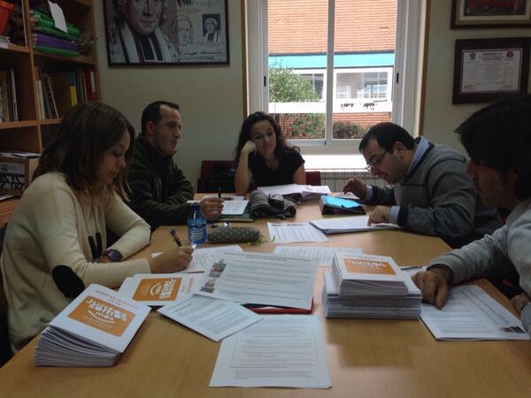Reunión coordinadores 3-02-14