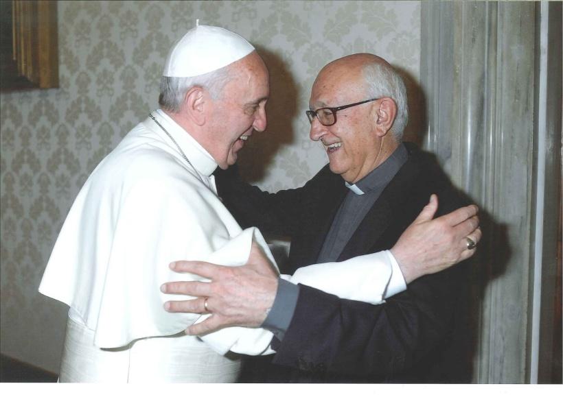 papa francisco y jm arnaiz