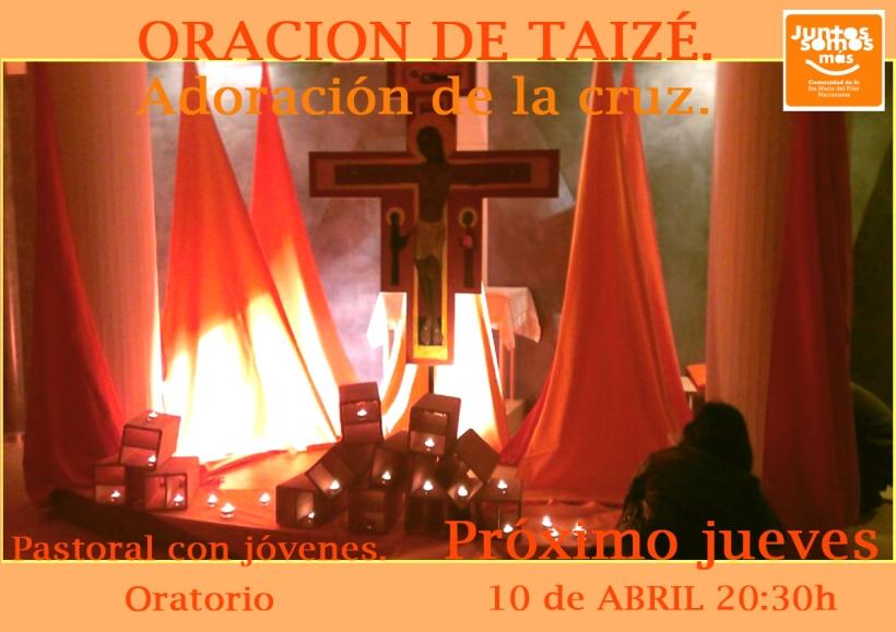 Oracion Taize abril 2014