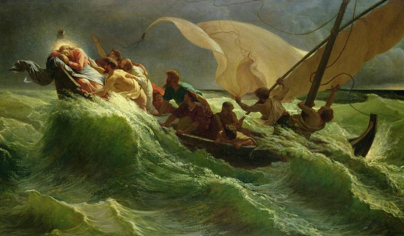 cristo-dormido-en-su-barca-jules-joseph-meynier-1900
