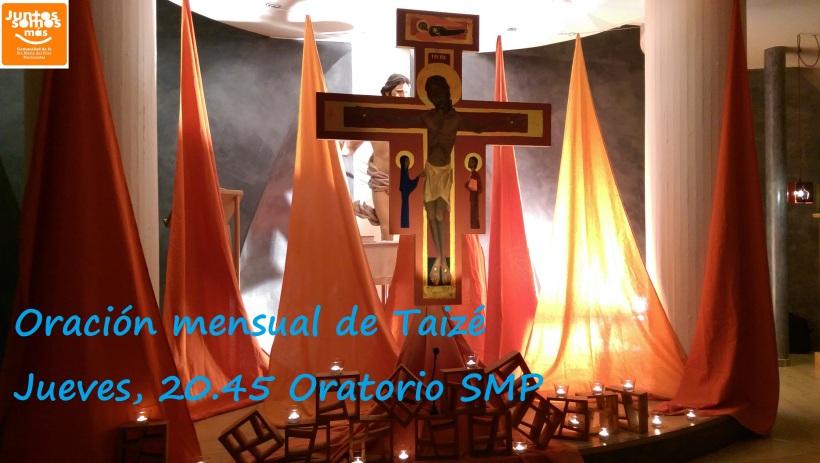Cartel oración Taizé