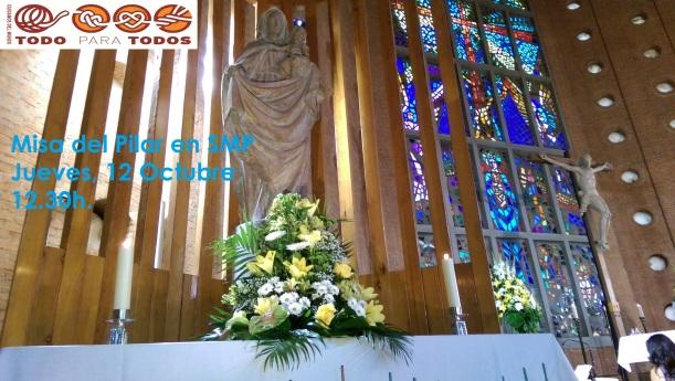Misa fiesta del Pilar 2017