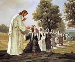 Jesus cura enfermos