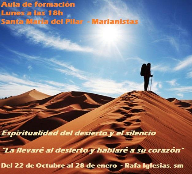 Curso espiritualidad desierto