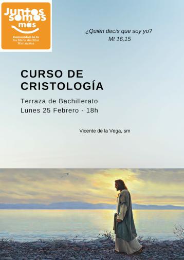 Cartel curso cristología 2019